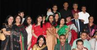 Part of the Bangla Radio Canberra team at the 14th year of broadcasting celebration